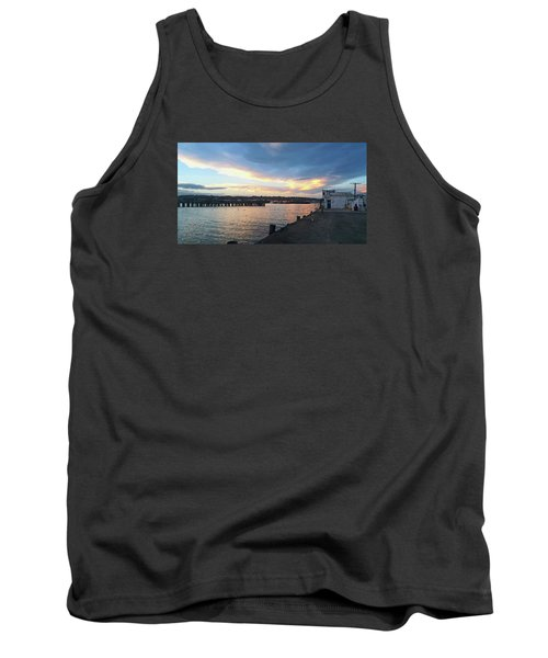 Tank Top featuring the photograph Evening At The Bay by Nareeta Martin