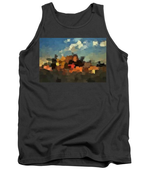 Evening At The Farm Tank Top