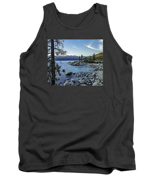 Evening At The Harbor-edit Tank Top by Nancy Marie Ricketts