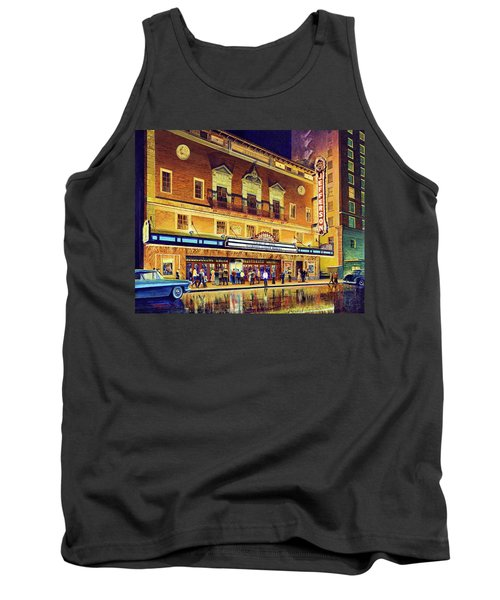 Evening At The Jefferson Tank Top