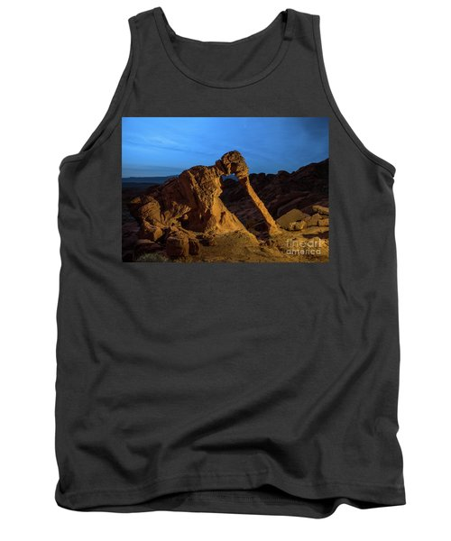 Evening Elephant Rock Tank Top
