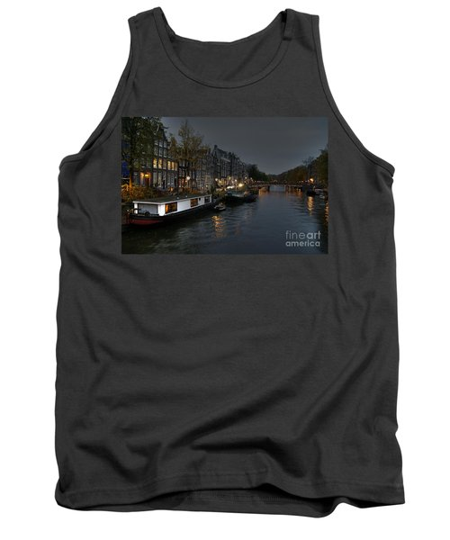 Evening In Amsterdam Tank Top