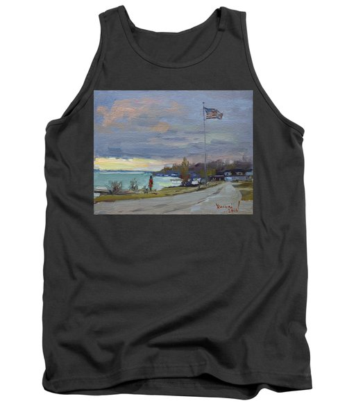 Evening In Gratwick Waterfront Park Tank Top