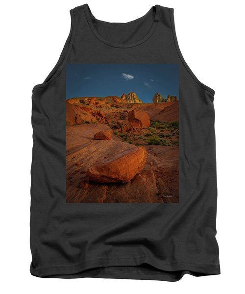 Evening In The Valley Of Fire Tank Top