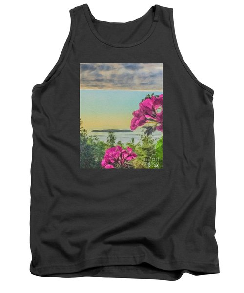 Tank Top featuring the photograph Islands Of The Salish Sea by William Wyckoff