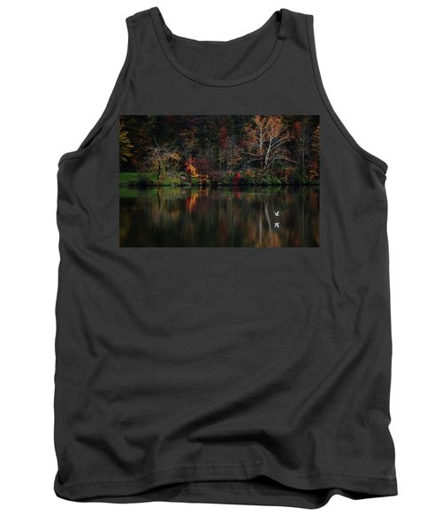 Evening On The Lake Tank Top