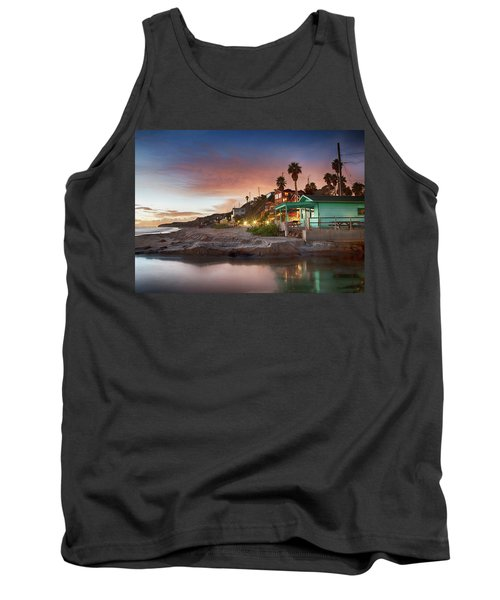 Evening Reflections, Crystal Cove Tank Top