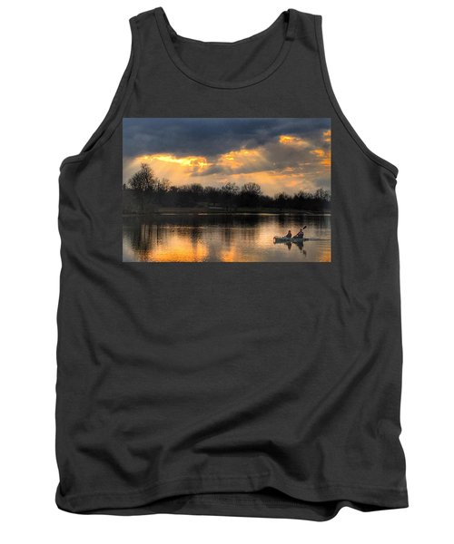 Evening Relaxation Tank Top by Sumoflam Photography
