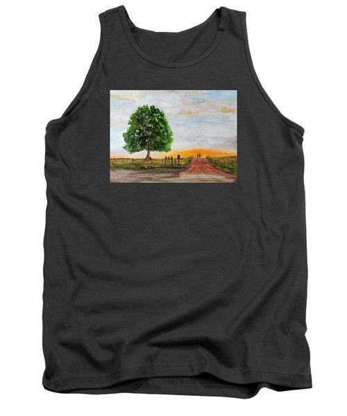 Evening Stroll Tank Top by Jack G Brauer