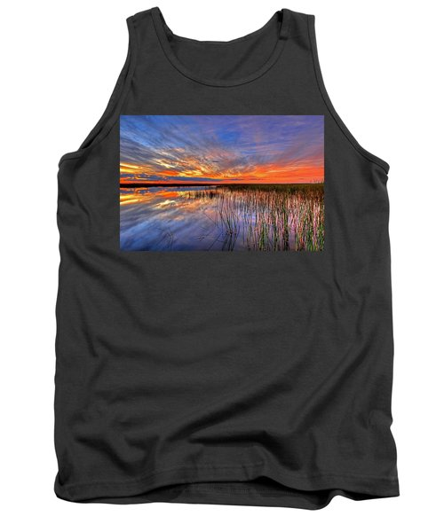 Everglades Sunset Tank Top