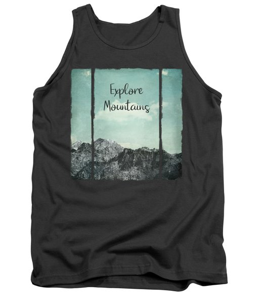 Explore Mountains Tank Top