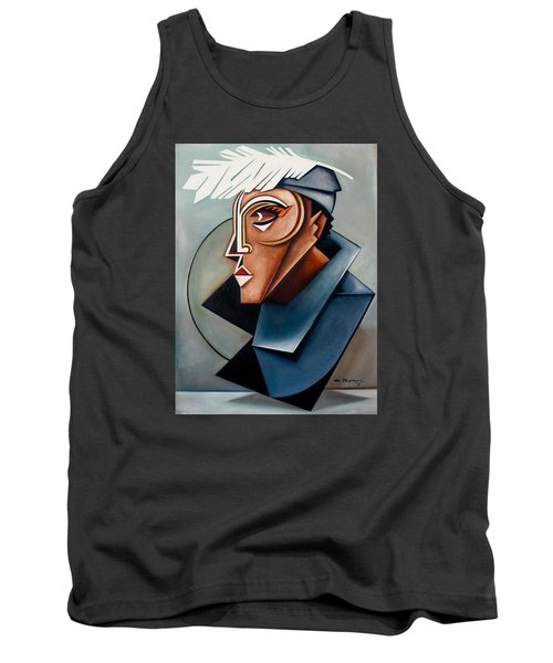 Eye Of The Watched Divine / Zora Neale Hurston Tank Top