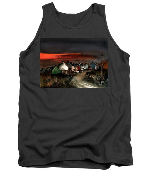 Cork Beara Eyeries Sunset Beara Tank Top