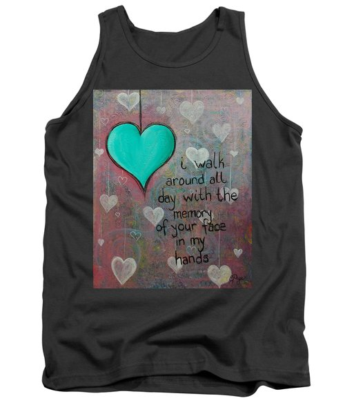 Face In My Hands Tank Top