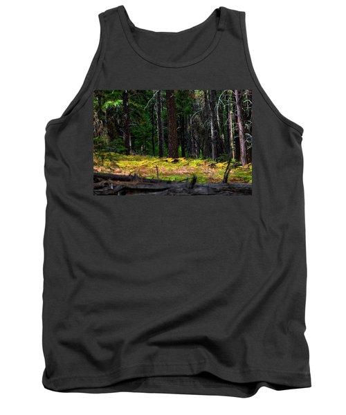 Cascade Mountain Range Fading Ferns Tank Top