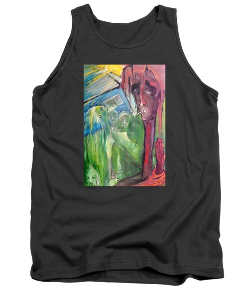 Faintly Visionary Tank Top by Kenneth Agnello