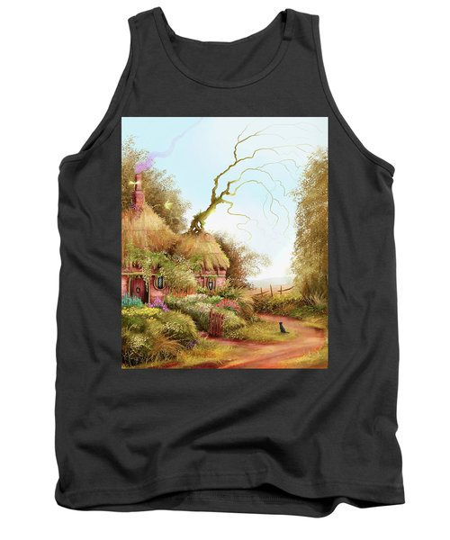 Fairy Chase Cottage Tank Top