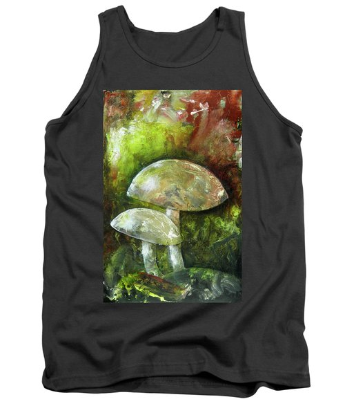 Fairy Kingdom Toadstool Tank Top by Terry Honstead