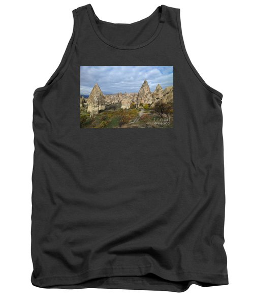 Tank Top featuring the photograph Fairy Tale Of Cappadocia by Yuri Santin