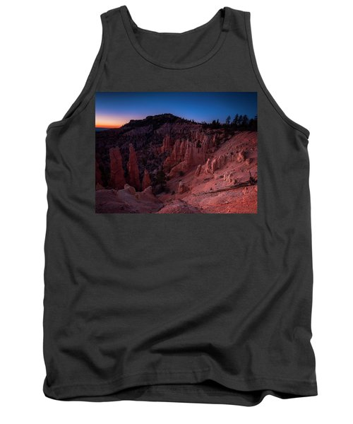 Tank Top featuring the photograph Fairyland Canyon by Edgars Erglis
