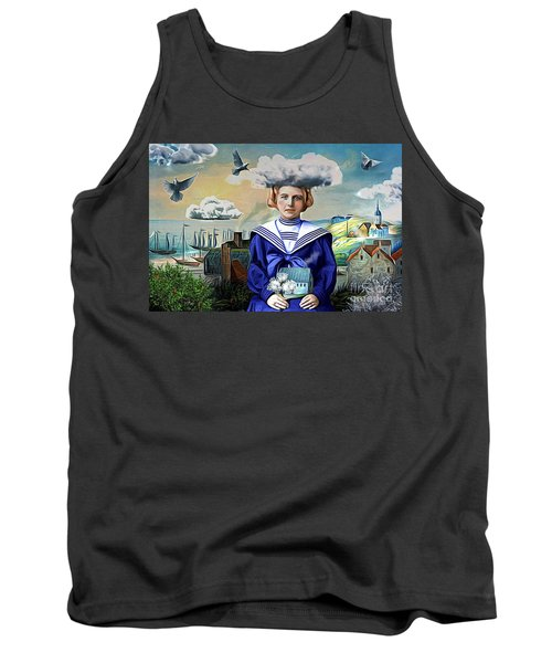 Tank Top featuring the digital art Faith In The Future by Alexis Rotella