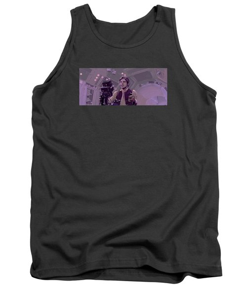 Falcon Gun Turret Tank Top by Kurt Ramschissel