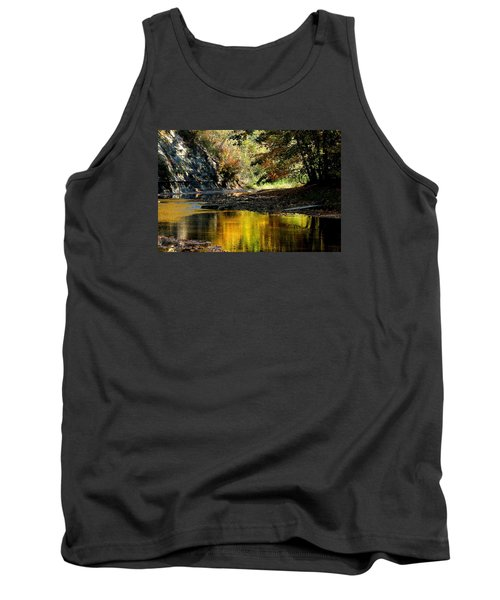 Tank Top featuring the photograph Fall At Big Creek by Bruce Patrick Smith
