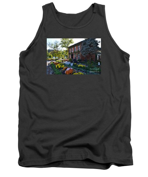 Fall At Lanier Winery In Madison  Tank Top