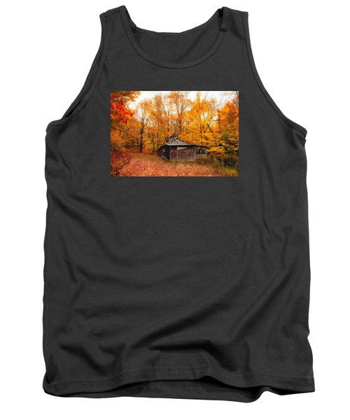 Fall At The Sugar House Tank Top by Robert Clifford