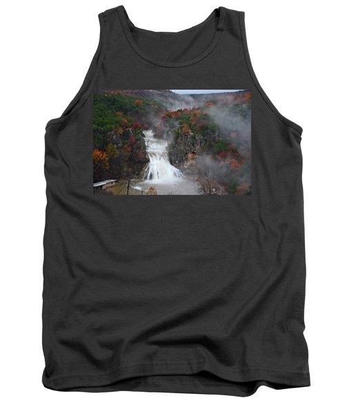 Fall At Turner Falls Tank Top