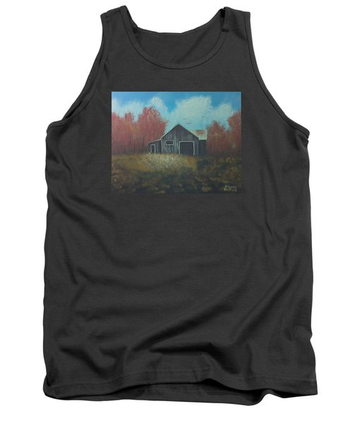Autumn Barn Tank Top
