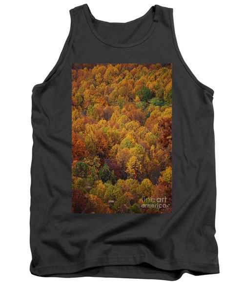 Tank Top featuring the photograph Fall Cluster by Eric Liller