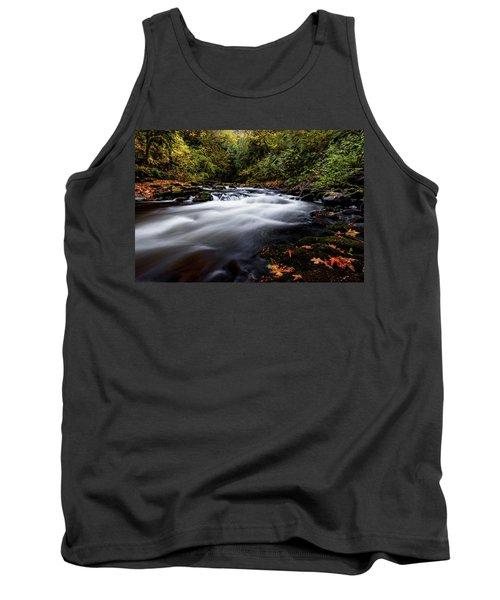 Fall Color At Cedar Creek Tank Top