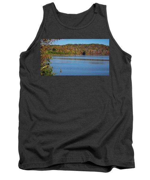 Fall Color At Lake Zwerner Tank Top