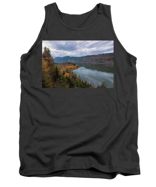 Fall Color At Ruthton Point In Hood River Oregon Tank Top