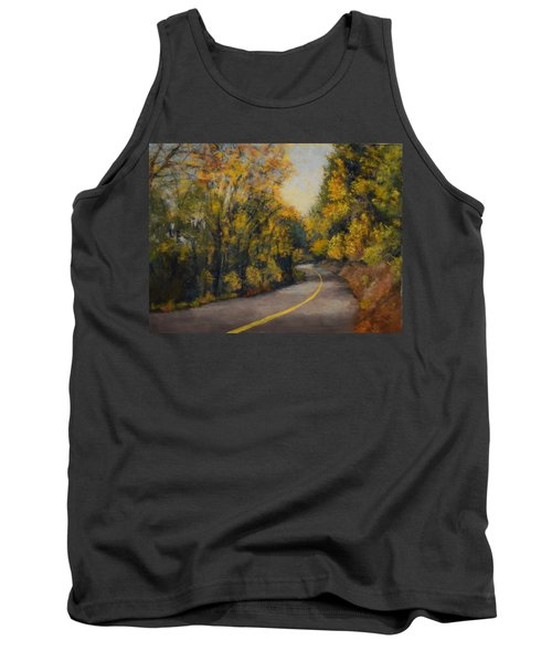 Tank Top featuring the painting Fall Color by Nancy Jolley