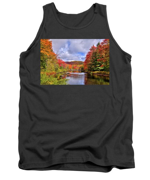 Fall Color On The River Tank Top