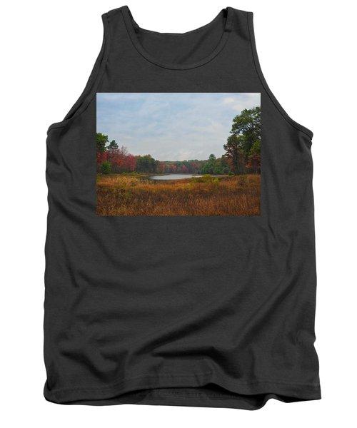 Fall Colors At Gladwin 4459 Tank Top