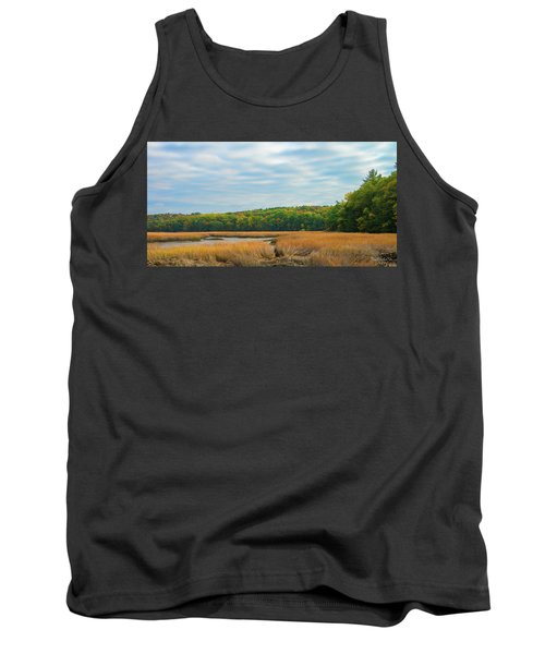 Fall Colors In Edgecomb Tank Top