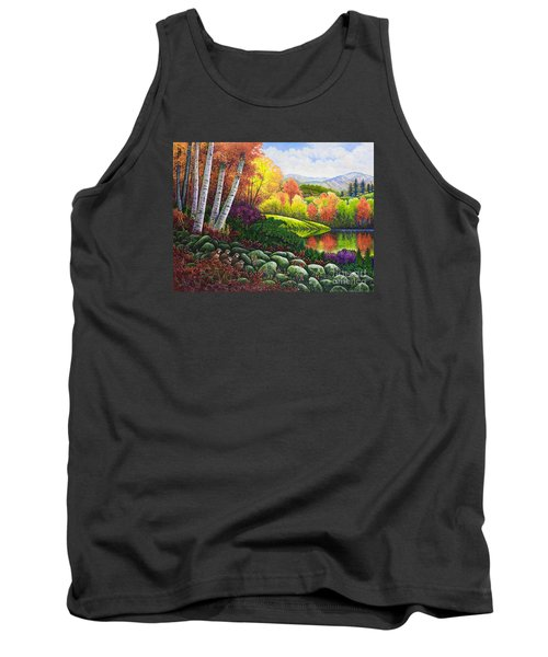 Fall Colors Tank Top by Michael Frank