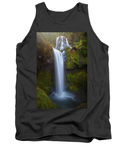 Tank Top featuring the photograph Fall Creek Falls by Darren White