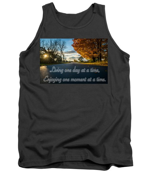 Fall Day With Saying Tank Top
