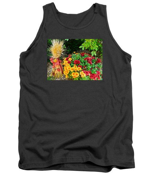 Tank Top featuring the photograph Fall Fantasy by Randy Rosenberger