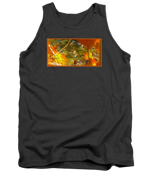 Tank Top featuring the photograph Fall Flyer by David Norman