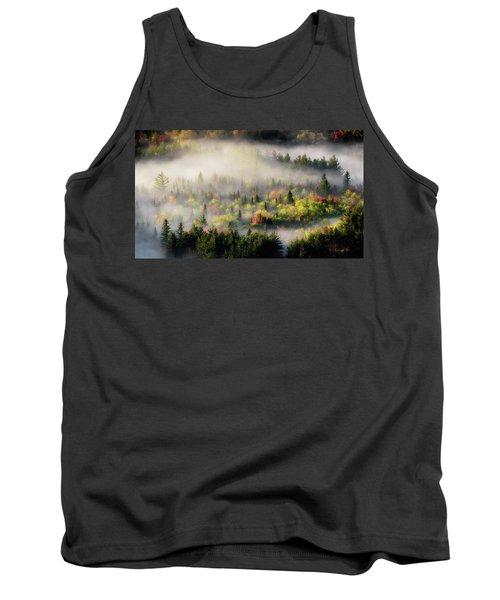 Fall Fog Tank Top