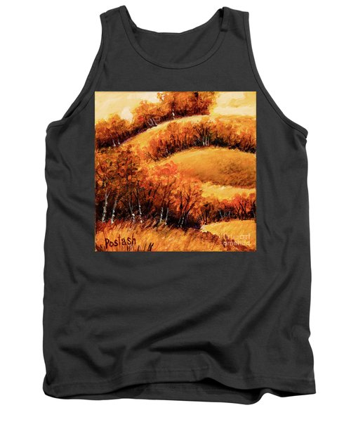 Tank Top featuring the painting Fall by Igor Postash