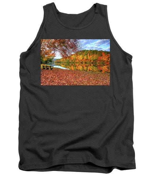Fall In Murphy, North Carolina Tank Top by Sharon Batdorf