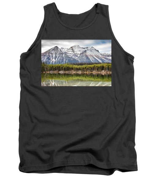 Tank Top featuring the photograph Fall In The Canadian Rockies by Pierre Leclerc Photography