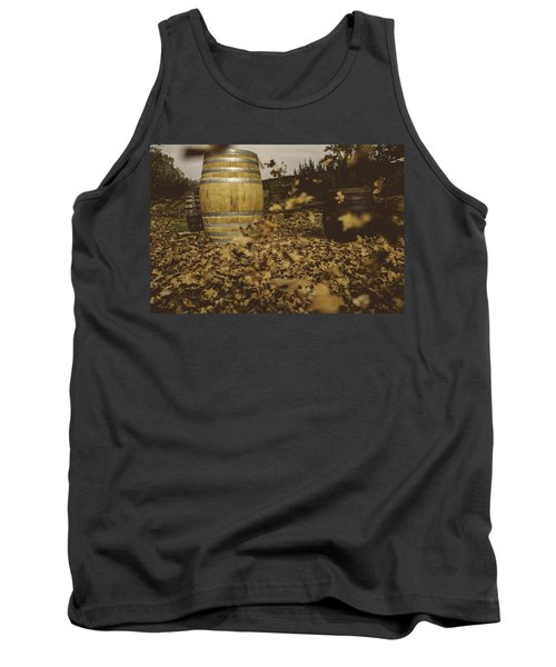 Fall In The Garden Tank Top by Cesare Bargiggia