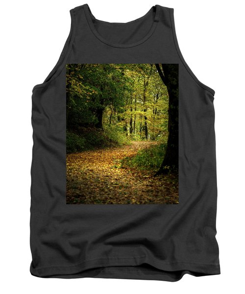 Fall Is Just Around The Corner Tank Top